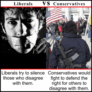 the great healthcare debate liberalism versus conservatism Liberal beliefs study guide by khaos4u includes 24 questions covering  vocabulary, terms and more quizlet flashcards, activities and games help you  improve your grades  a market system in which government regulates the  economy is best  permitting euthanasia would reduce health care costs, which  would then.