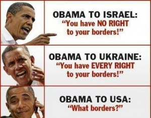 Obama-on-borders-theirs-and-ours